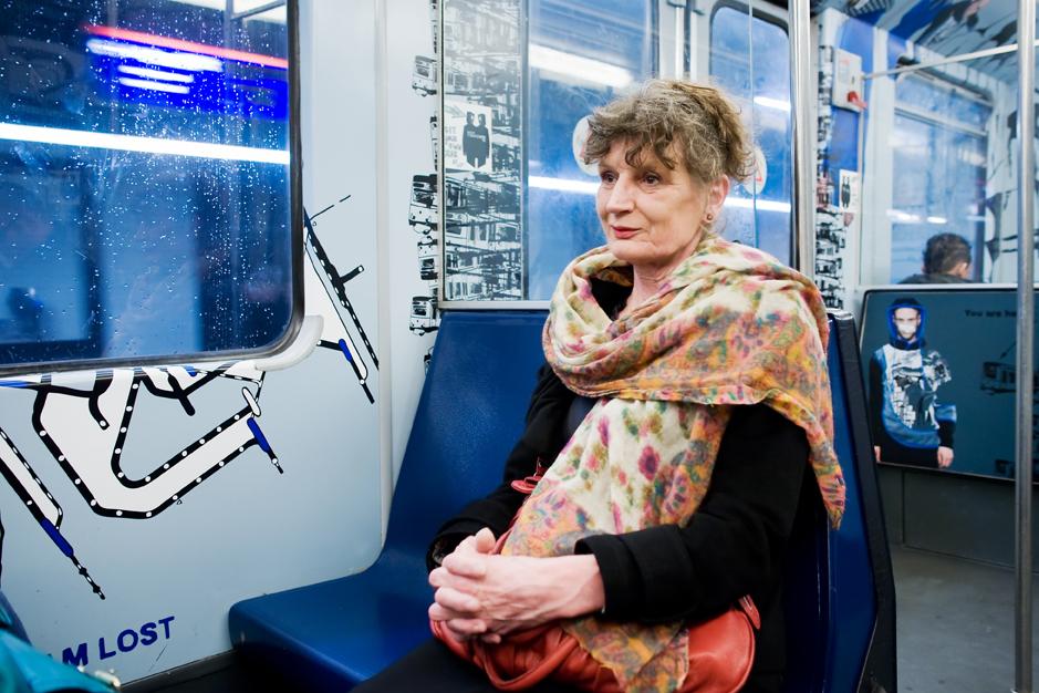 Launderette - 's Morgens in de metro - job boersma fotografie