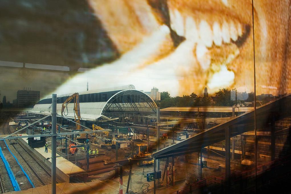 Het station, de kunst en de stad - job boersma fotografie